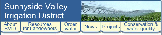 Sunnyside Valley Irrigation District resources